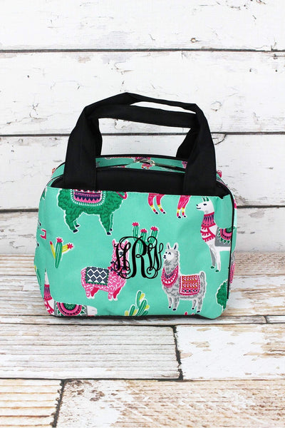 NGIL No Prob-Llama Insulated Bowler Style Lunch Bag