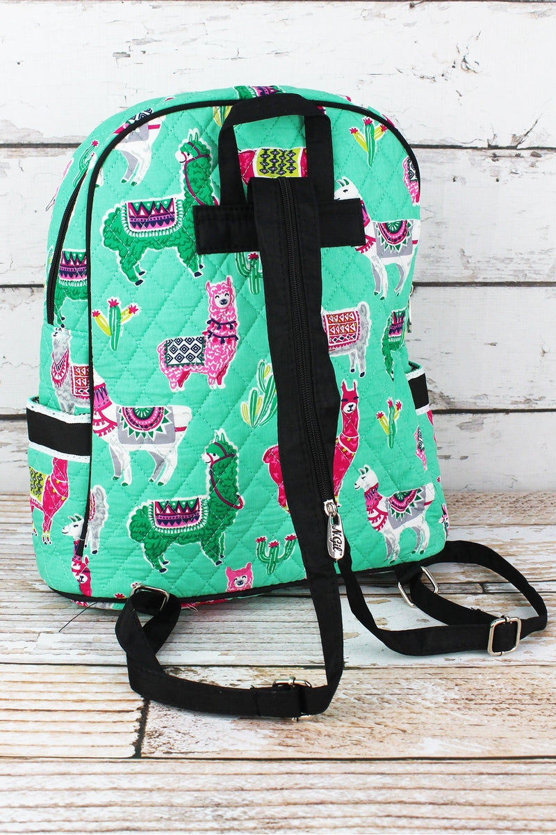 NGIL No Prob-Llama Quilted Backpack