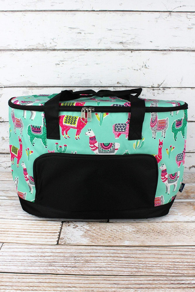 NGIL No Prob-Llama and Black Cooler Tote with Lid