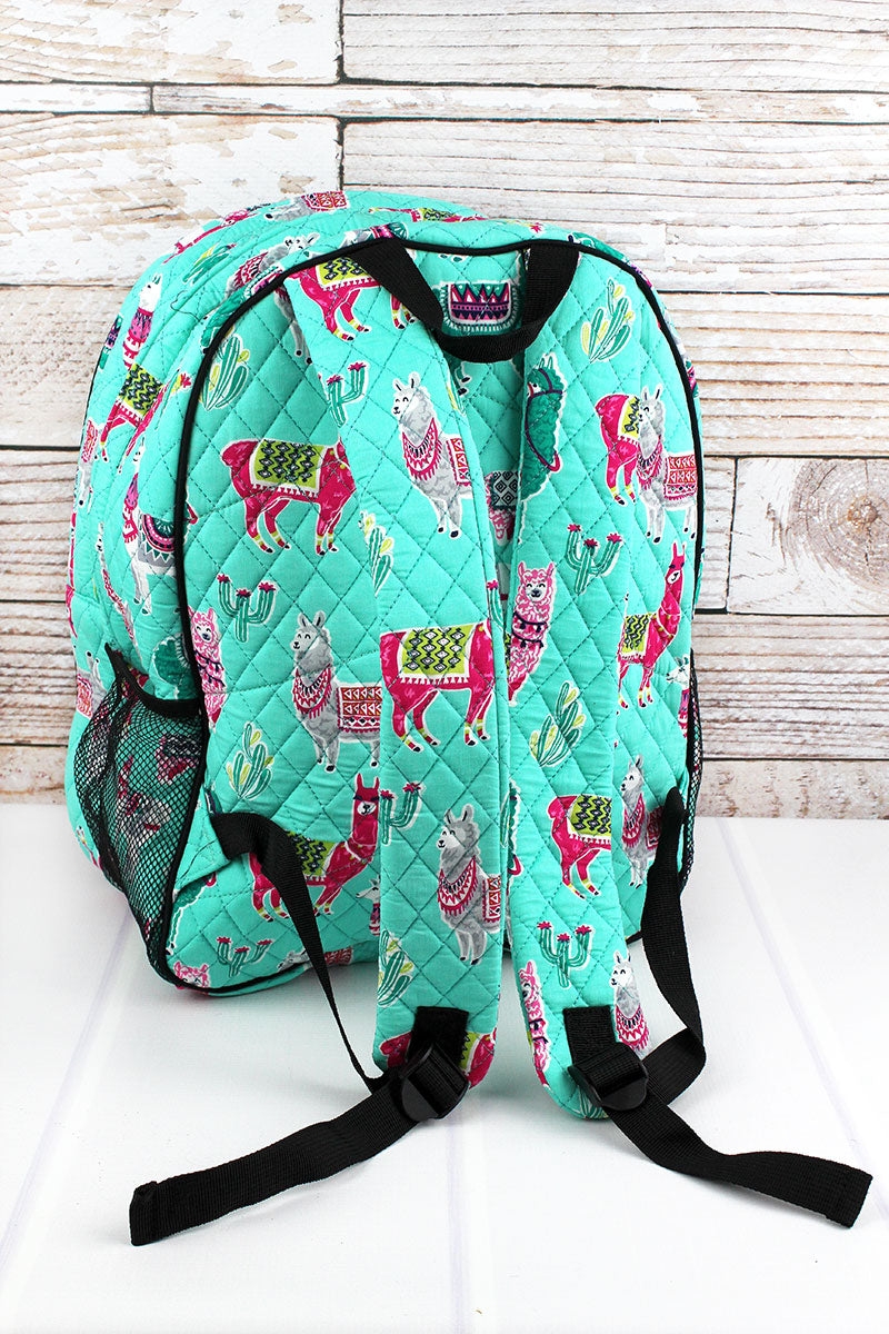 NGIL No Prob-Llama Quilted Oversized Backpack