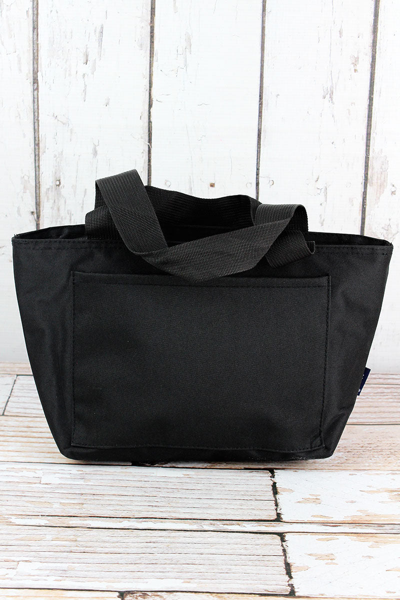 NGIL Black Insulated Lunch Bag