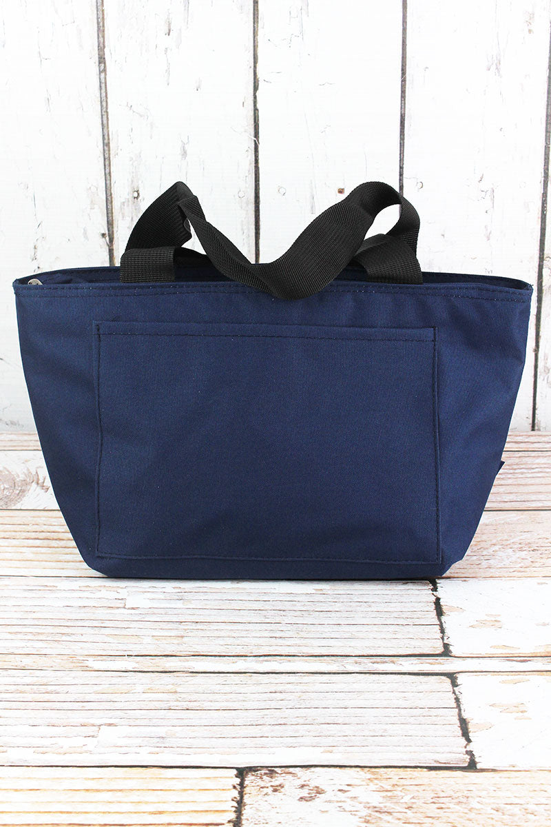 NGIL Navy Insulated Lunch Bag