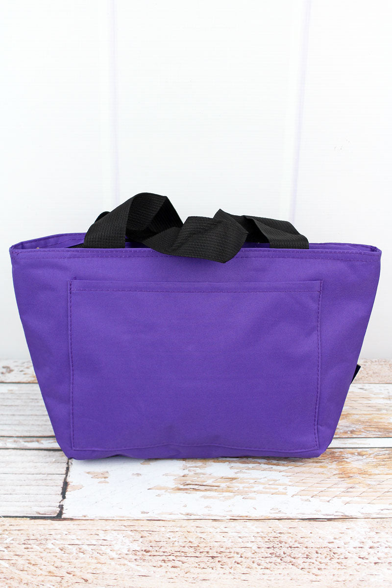 SALE! NGIL Purple Insulated Lunch Bag