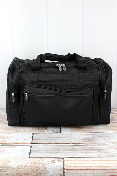 NGIL Black Duffle Bag 20""