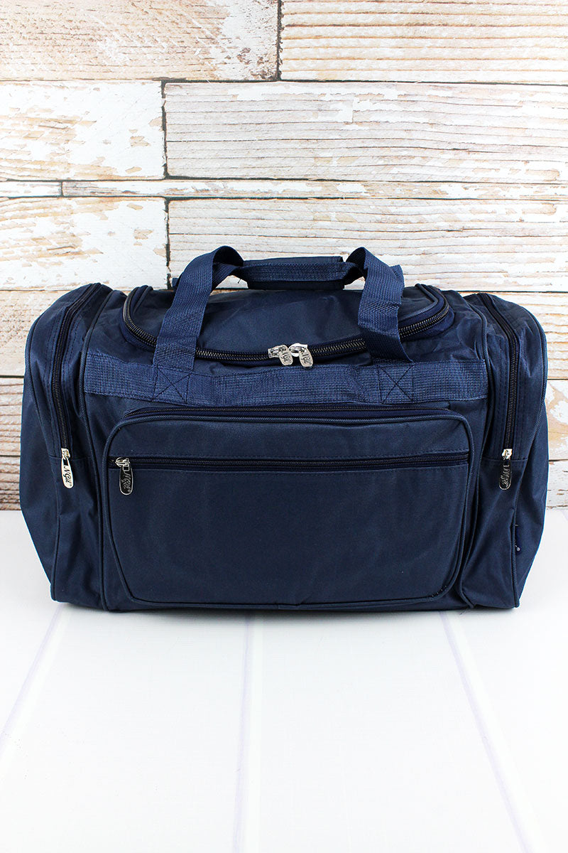 NGIL Navy Duffle Bag 20""
