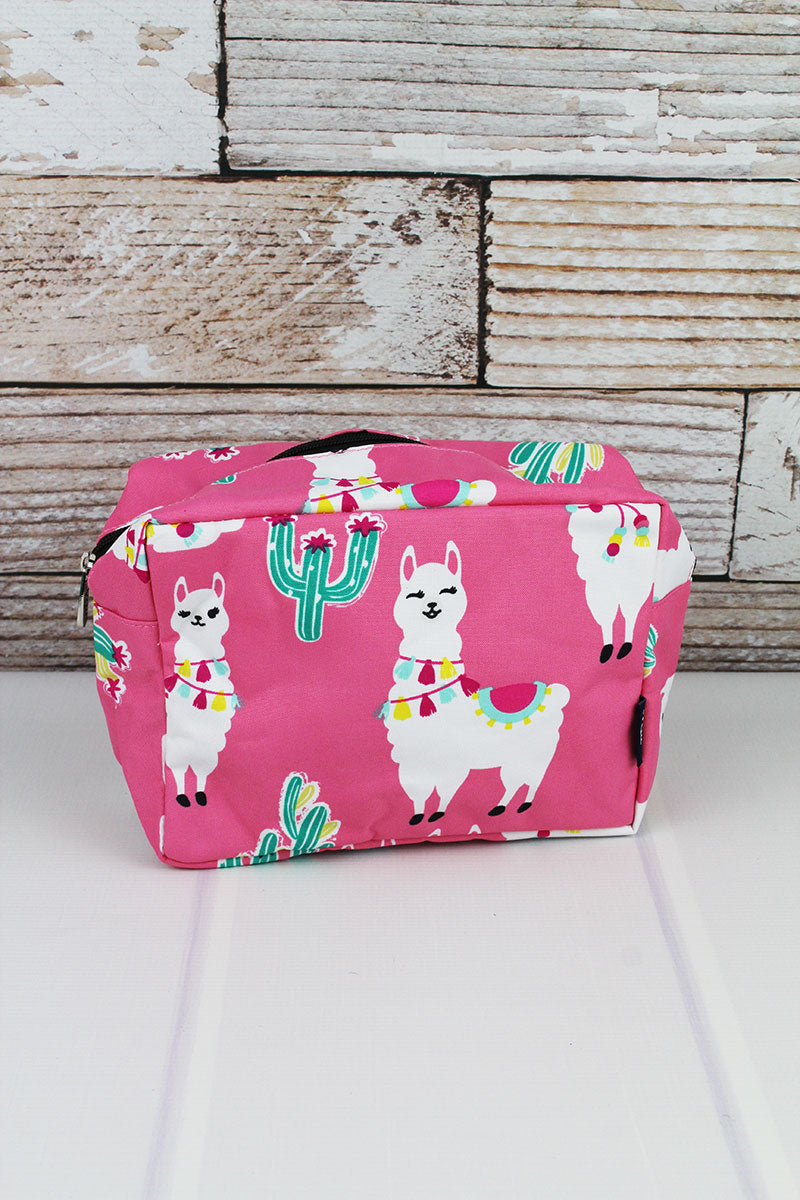 Llovely Llamas Cosmetic Case