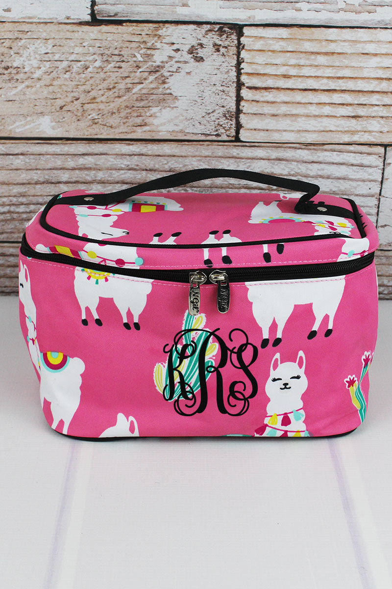 NGIL Llovely Llamas Train Case