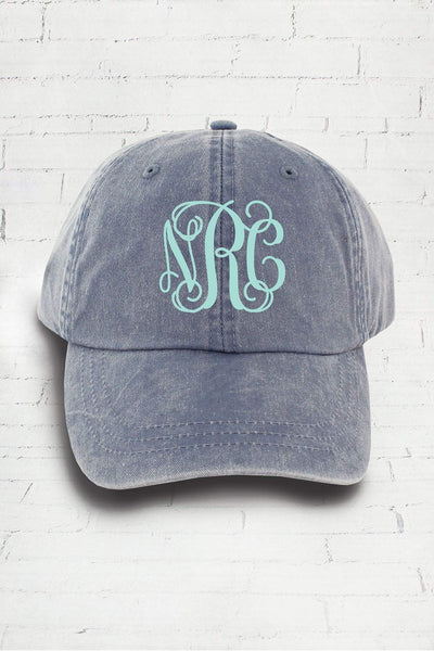 Washed Periwinkle Baseball Cap #LP101