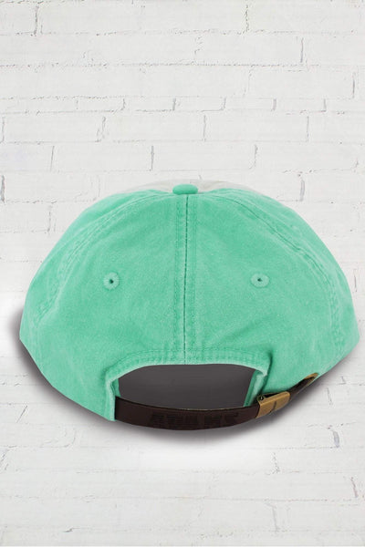Seafoam and Ivory Colorblock Cap #LP106