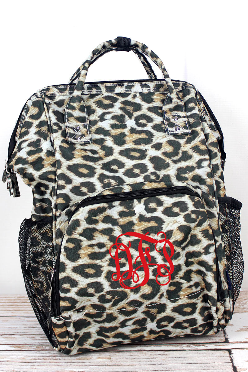 NGIL Leopard Casual Backpack