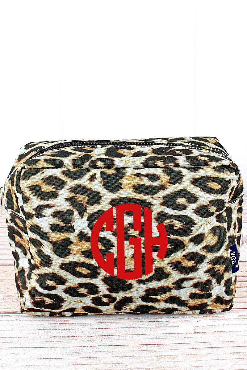 NGIL Leopard Cosmetic Case