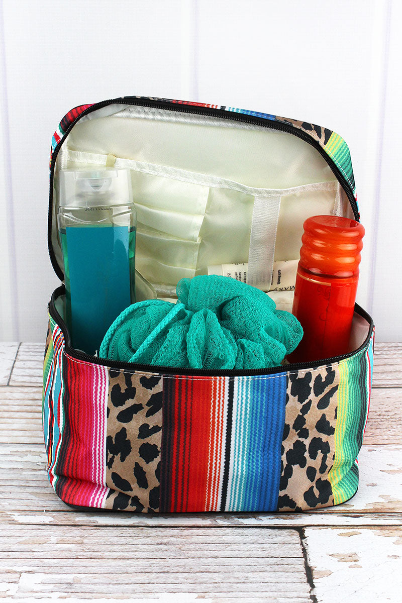 NGIL Wild Serape Train Case