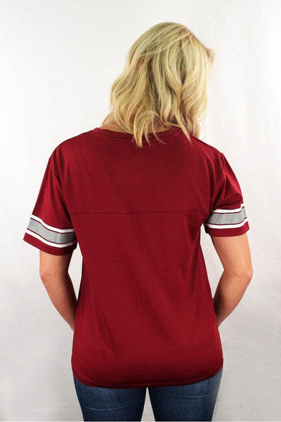 Boxercraft Garnet Game Time Top *Personalize It