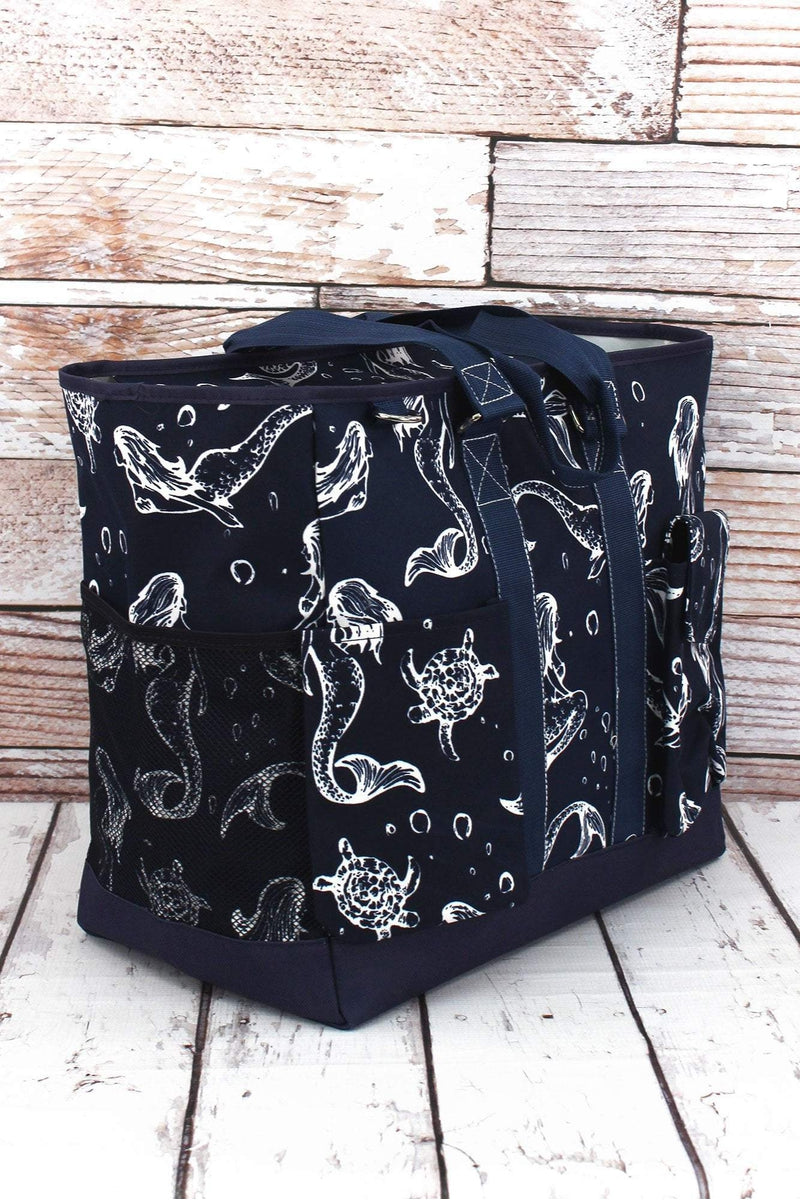 NGIL Magical Mermaid Everyday Organizer Tote