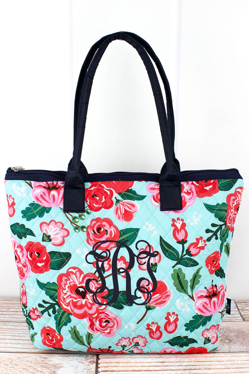NGIL Painted Posies Quilted Shoulder Bag