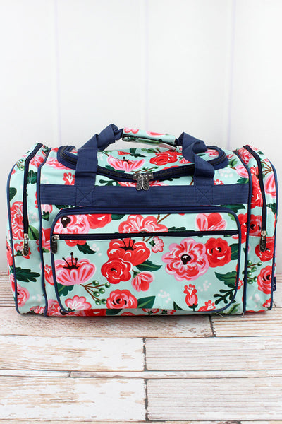 NGIL Painted Posies Duffle Bag 20""