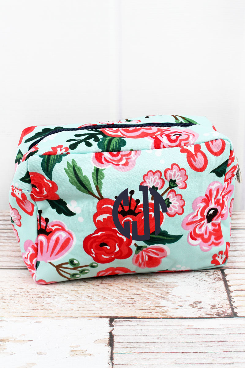 NGIL Painted Posies Cosmetic Case