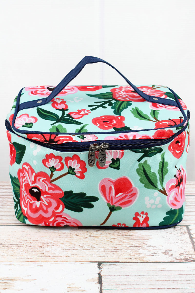 NGIL Painted Posies Train Case