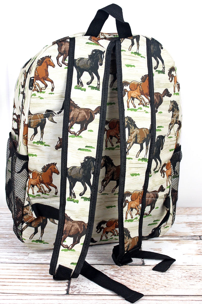 NGIL Wild Horses Large Backpack