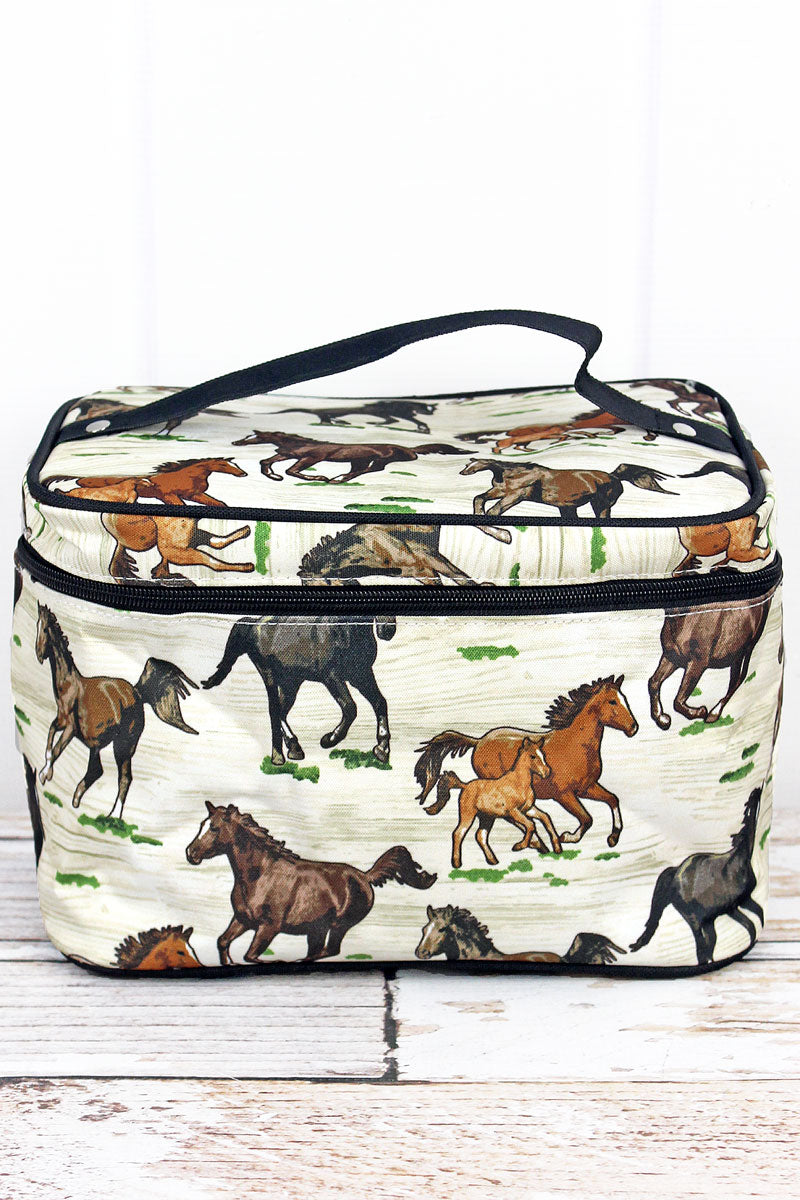 NGIL Wild Horses Train Case