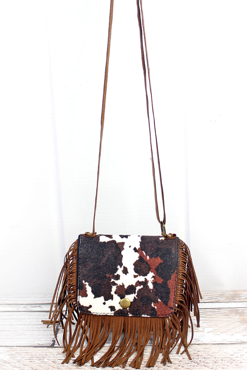 Girl's Country Chic Mini Fringed Purse