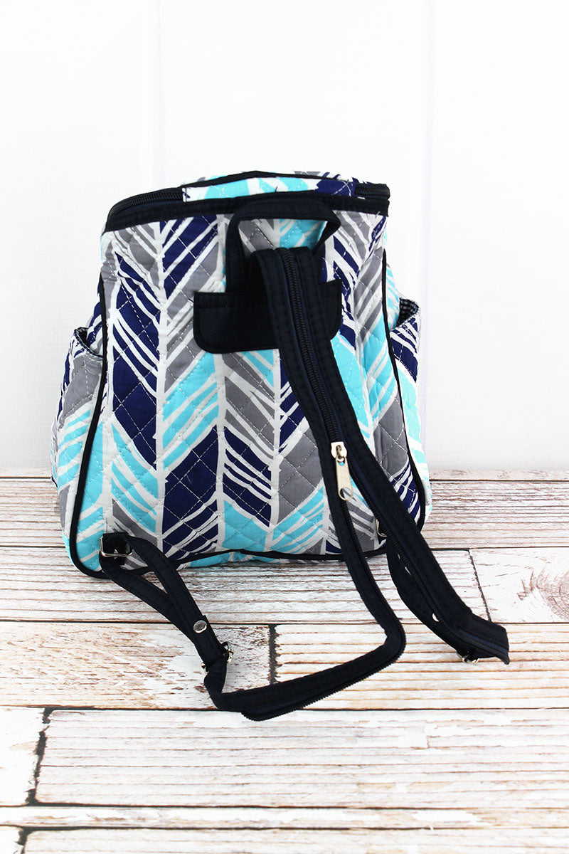 NGIL Seaside Stripes Quilted Petite Backpack