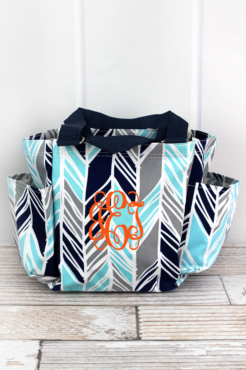 NGIL Seaside Stripes Organizer Tote