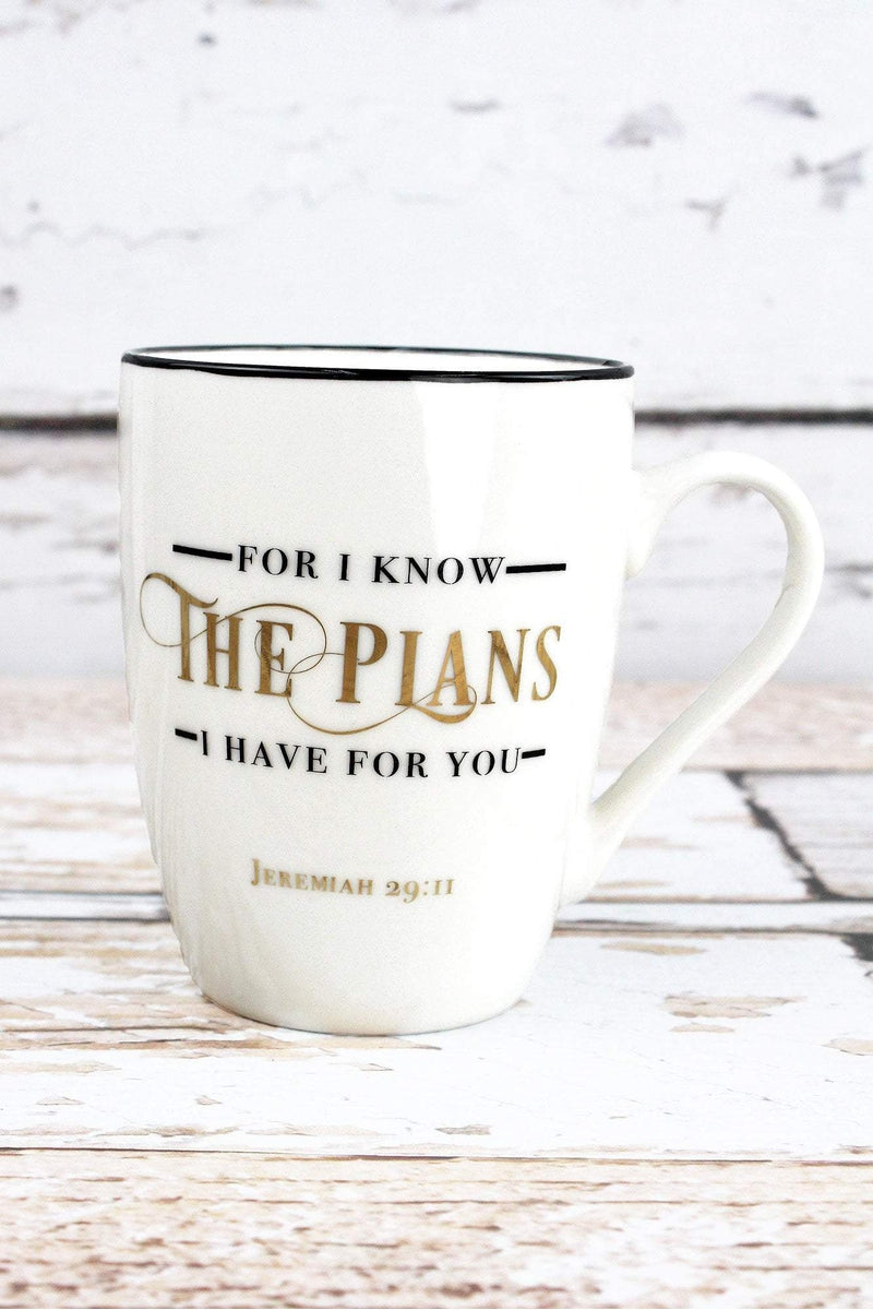 Jeremiah 29:11 'I Know The Plans' Mug