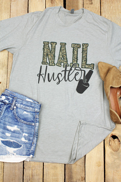 Nail Hustler Poly/Cotton Tee