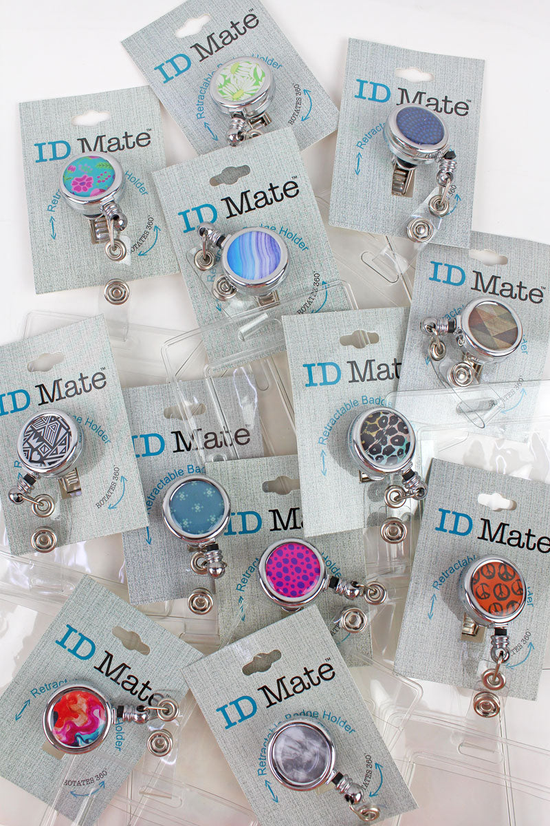 One ID Mate Retractable Badge Holder - SHIPS ASSORTED