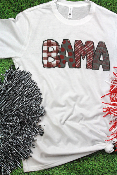 BAMA Doodle Poly/Cotton Tee