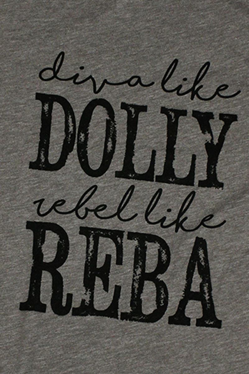Diva Like Dolly  Poly/Cotton Tee