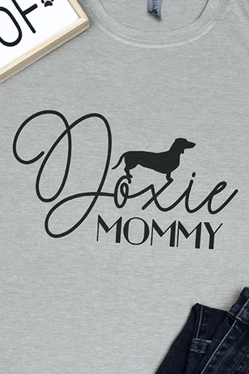 Doxie Mommy Poly/Cotton Tee