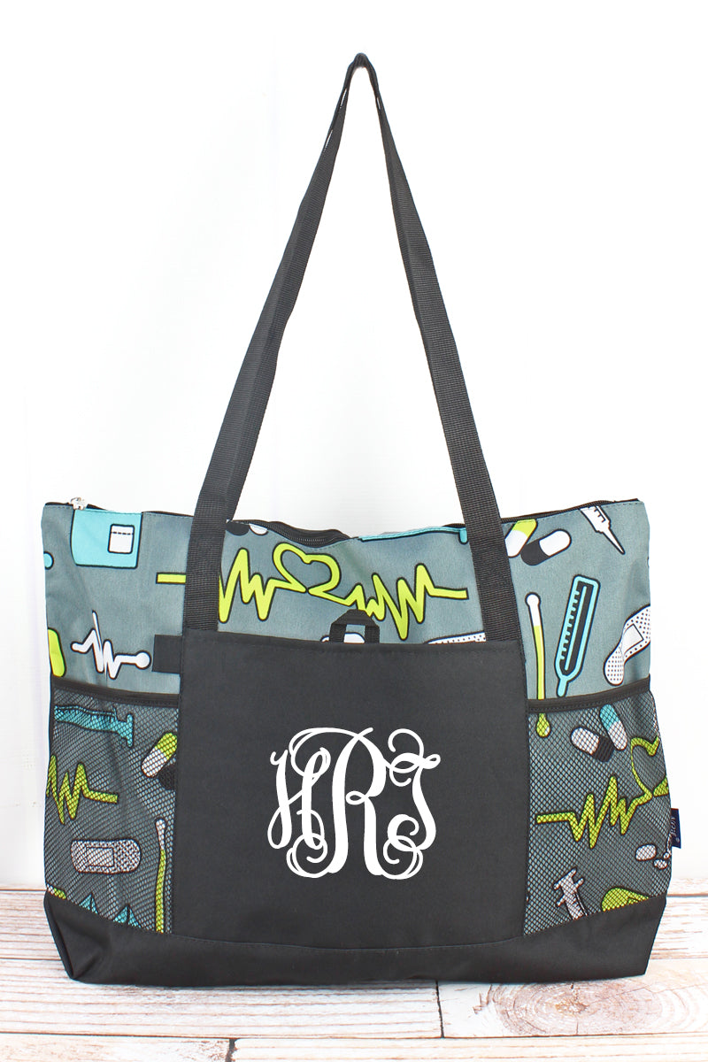 NGIL Nurse Life Pocket Tote Bag