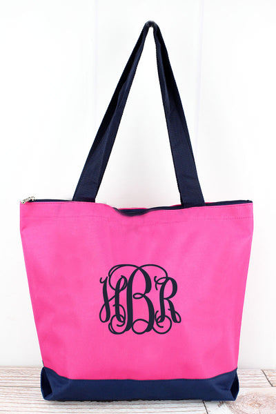 NGIL Scrub Life Hot Pink Tote Bag