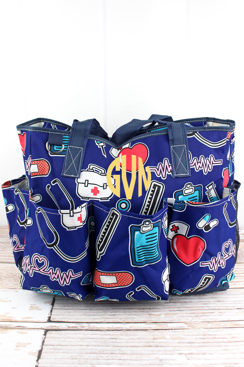 NGIL Nurse Love Large Organizer Tote