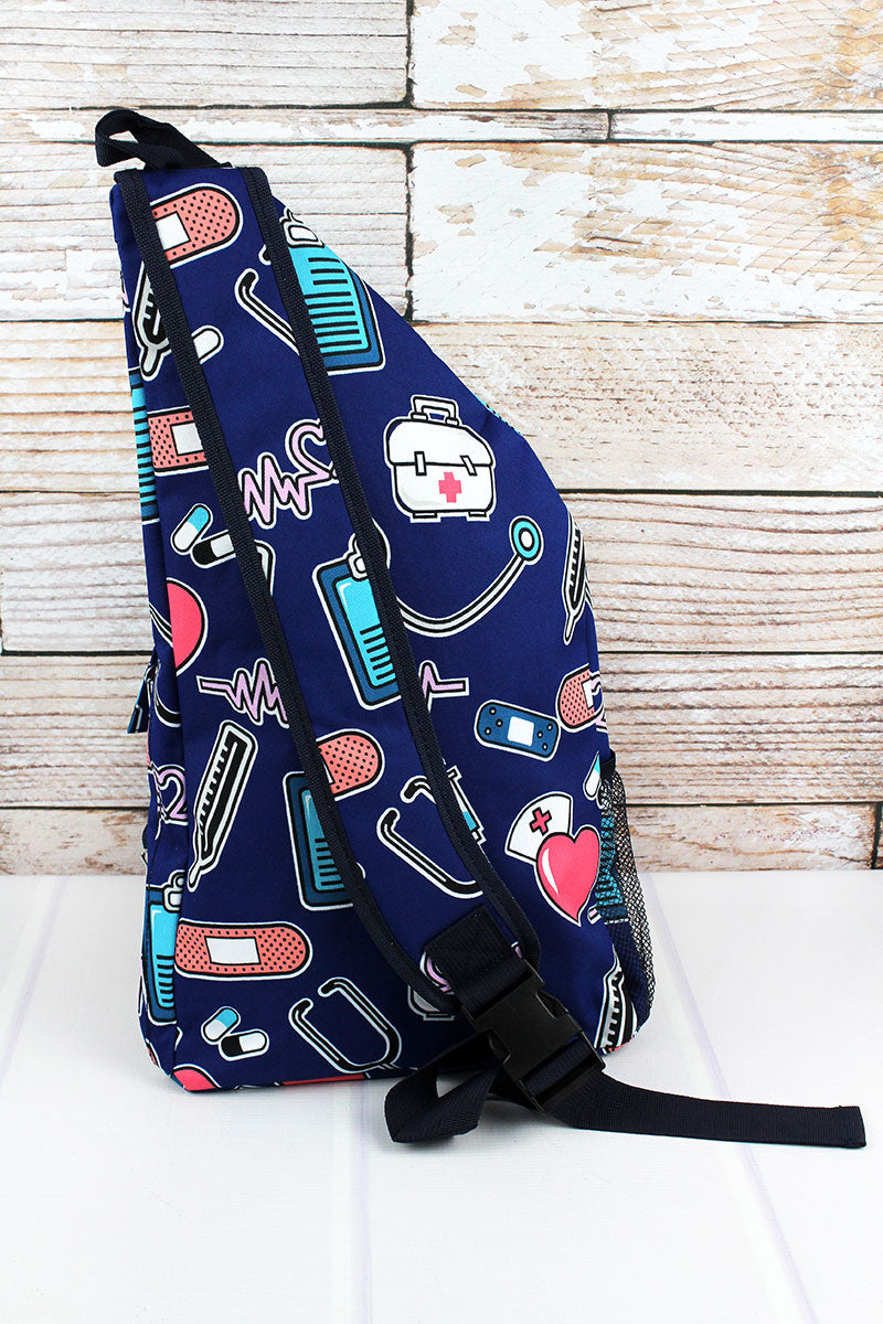 NGIL Nurse Love Sling Backpack