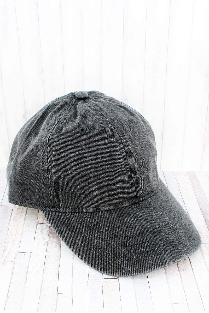 Pepper Comfort Colors Pigment Dyed Canvas Baseball Cap
