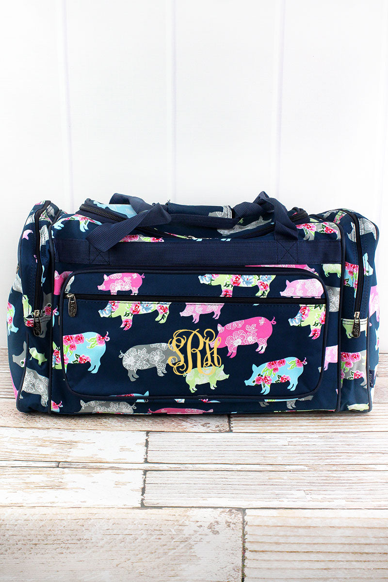 NGIL Posh Pigs Duffle Bag 23""