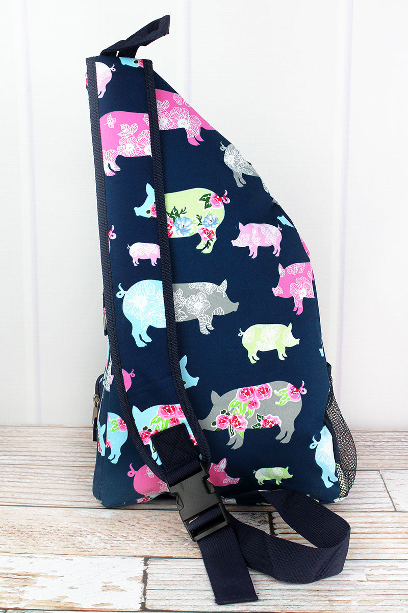 NGIL Posh Pigs Sling Backpack