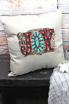 Oh Joy Turquoise Decorative Pillow Cover