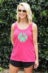 Fuchsia Flare Tank Top *Personalize It