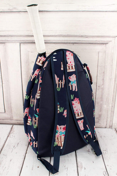 NGIL Playful Pigs Tennis Backpack