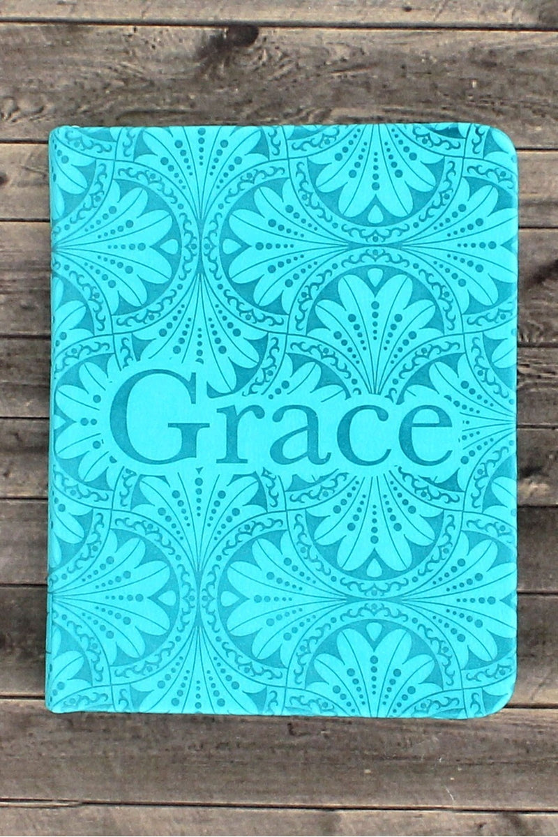 Teal LuxLeather 'Grace' Pocket Inspirations