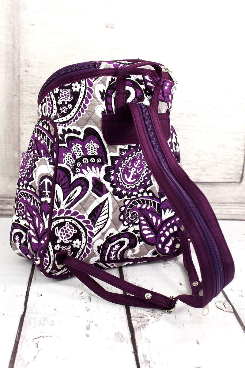 NGIL Paisley Paradise Quilted Petite Backpack