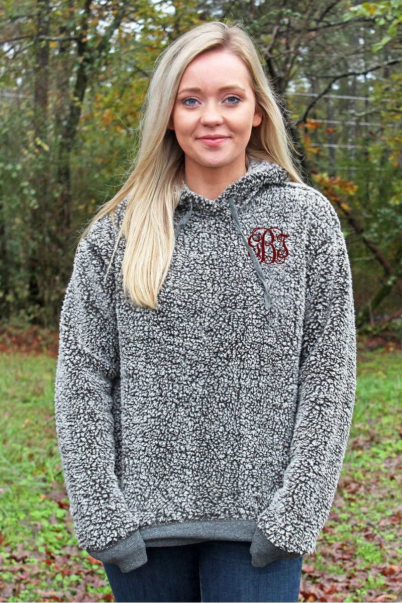 Boxercraft Adult Sherpa Hoodie *Personalize It