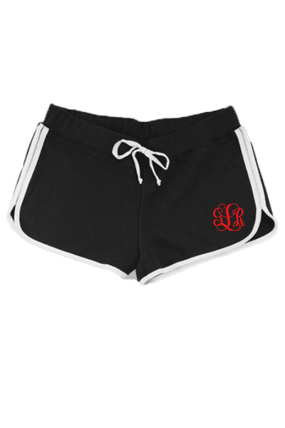Boxercraft Ladies Relay Short, Black and White