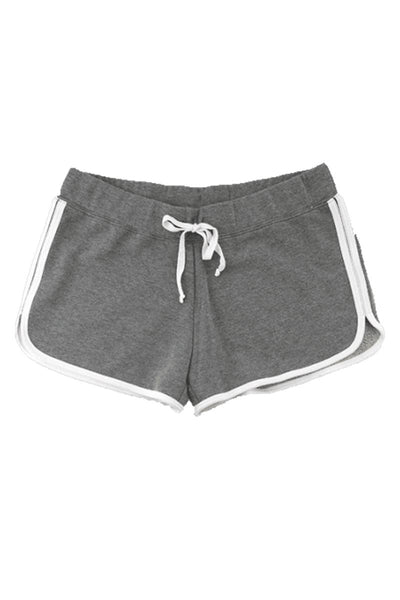 Boxercraft Ladies Relay Short, Granite and White