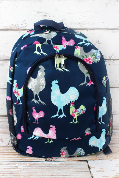NGIL Rosy Roosters Large Backpack