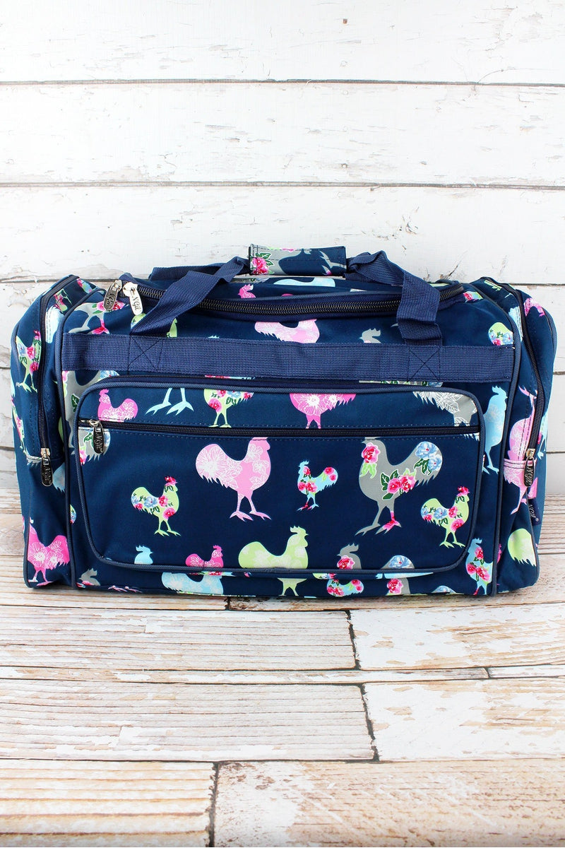 NGIL Rosy Roosters Duffle Bag 23""